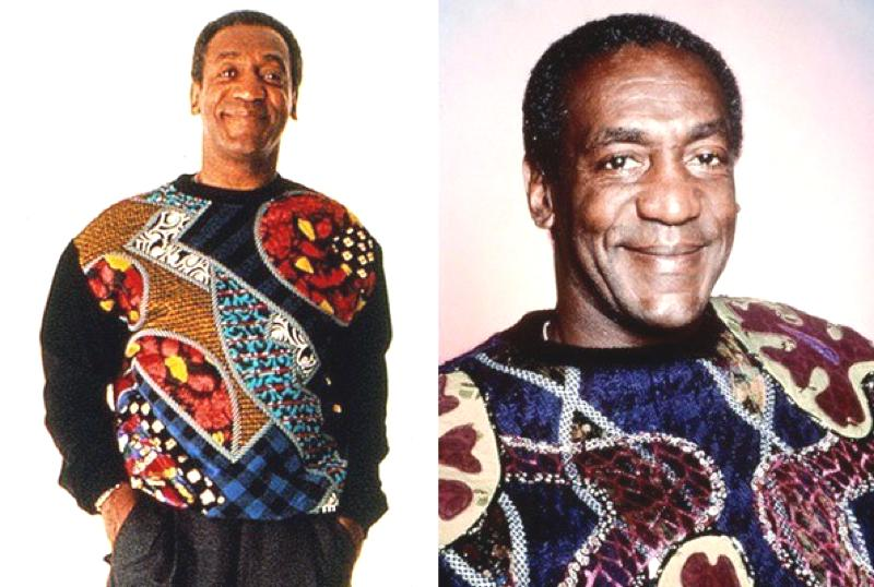 The Bill Cosby Sweater, Pinnacle of 2010's Style.